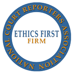 Lake Cook Reporting is an NCRA Ethics First agency.