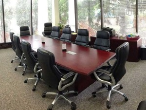 Conference room provided by Lake Cook Reporting north of Chicago, free when using our court reporters.