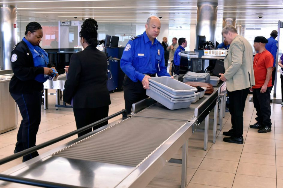 "Standing in Your Shoes. A message from Secretary Johnson about the men and women of TSA → ""On Thursday, I worked alongside the men and women of the Transportation Security Administration at the Baltimore-Washington International Airport. I interacted with passengers and addressed their questions, and even helped a family get to their gate on time. These are just a sampling of the essential tasks that the men and women of TSA perform each and every day as they stand on the front lines of our nation's aviation security. I have stood in their shoes – this job is not easy. But it is vital. TSA secures the skies, and does so professionally, courteously, and with a sincere dedication to duty. Thank you, TSA, for what you do to protect the homeland."""