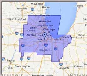 Areas served by Lake Cook Reporting in Chicago. Lake Cook Reporting can come to you anywhere in the world