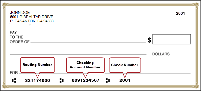 how to send voided check for direct deposit online