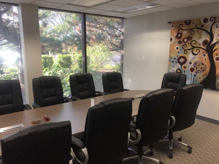 10-Person Conference Room at Lake Cook Reporting in Bannockburn, IL